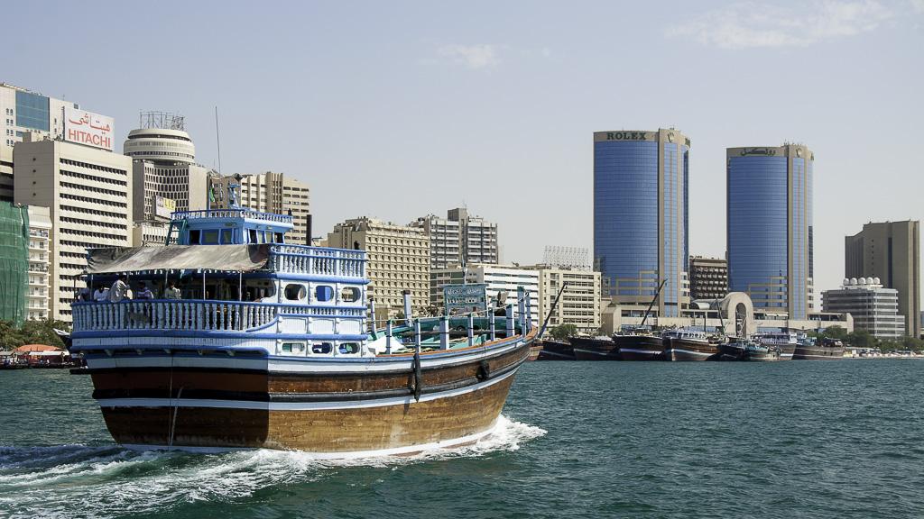 Boutre sur le Khor Dubaï