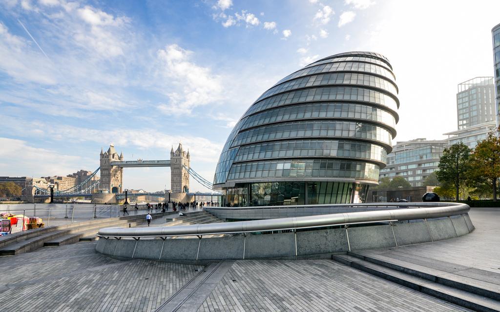 Hotel de ville de Londres et Tower Bridge