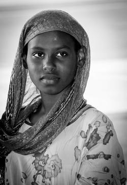 Jeune djiboutienne