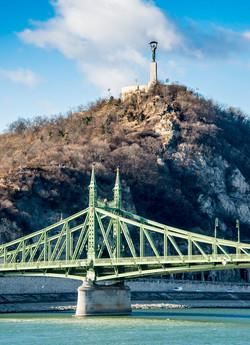 Pont et Statue de la Liberté