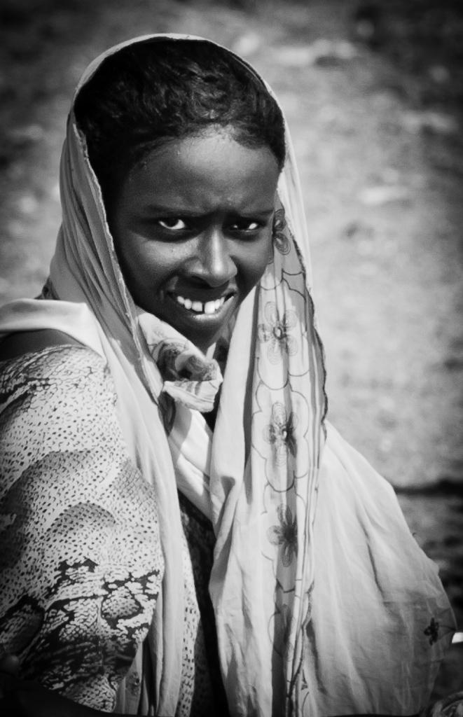 Femme djiboutienne