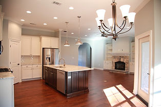 Tidwell Homes-Kitchen/Living Area