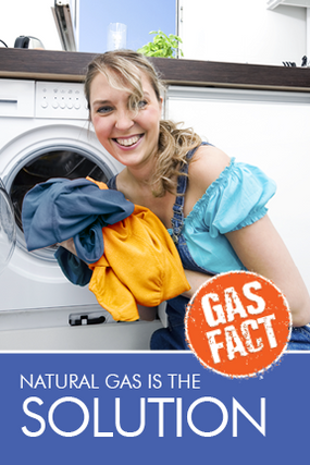 Natural gas is the solution