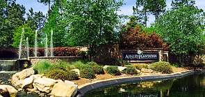 Ashley Plantation sign and entrance