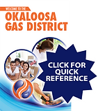 Click for Okaloosa Gas Quick Reference Booklet