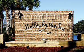 Holley by the Sea entrance sign