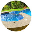 Natural gas pool and spa heating