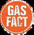 Orange Gas Fact Stamp