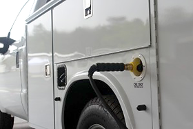 Natural gas fueling vehicle