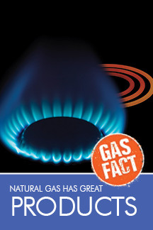 Natural gas has great products