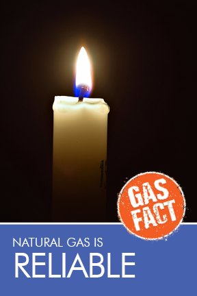 Natural gas is reliable
