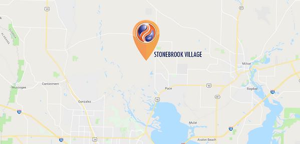 Stonebrook Village map.png