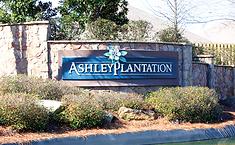 Ashley Plantation entrance