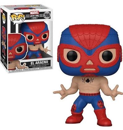 Funko Pop! Marvel Luchadores: El Aracno (Spider-Man)