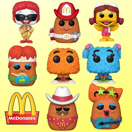 Funko Pop! Ad Icons McDonald's: 7 Pop! Bundle set