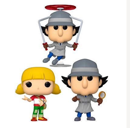 Funko Pop! Inspector Gadget: Set of 3 Bundle