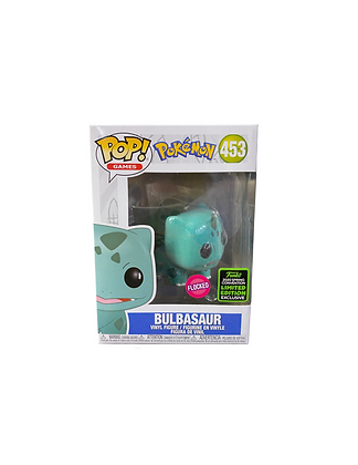 Pokemon: Bulbasaur FLOCKED Limited Edition Exclusive