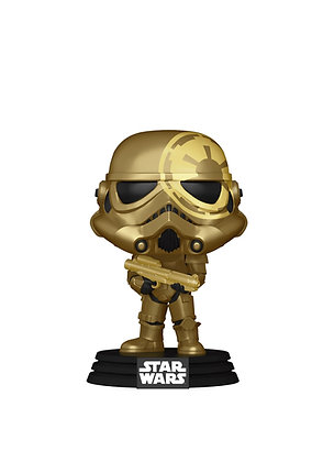 Funko Pop! Star Wars: Storm Trooper #296 Convention Shared Sticker
