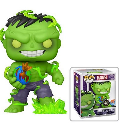 Funko Pop! Marvel Super Heroes: Inmortal Hulk 6-Inch Pop, 1:6 Chance for a Chase
