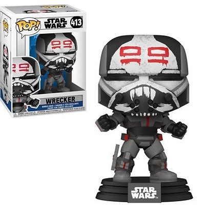 Funko Pop! Star Wars Clone Wars: Wrecker #413