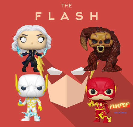 Funko Pop! DC The Flash: Bundle of 4