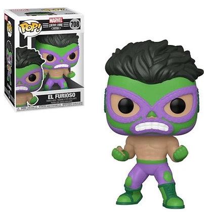 Funko Pop! Marvel Luchadores: El Furioso (Hulk)