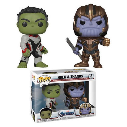 Marvel: Hulk & Thanos