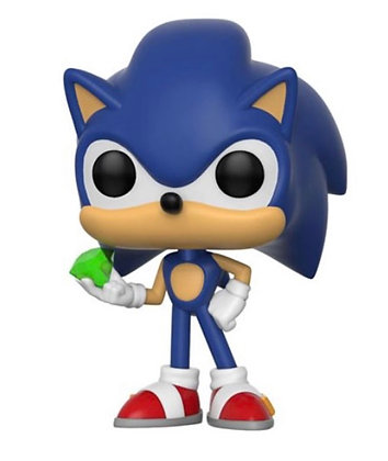 Funko Pop! Sonic the Hedgehog with Emerald: #284