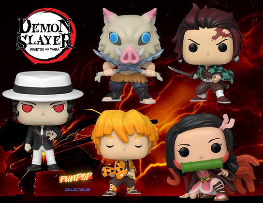 PREORDER Funko Pop! Demon Slayer: Bundle of 5