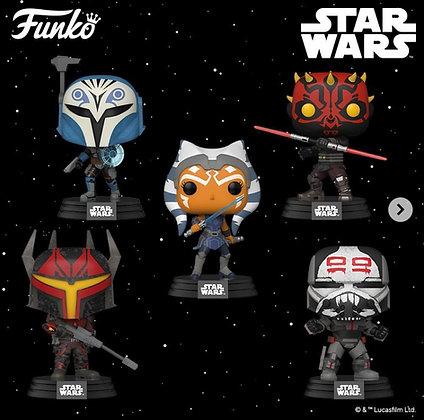 Funko Pop! Star Wars The Clone Wars: Set of 5
