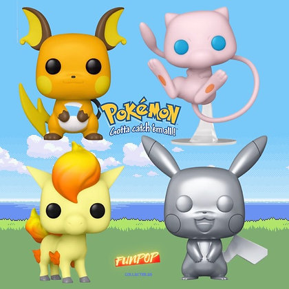 Funko Pop! Pokemon: Bundle of 4 Pokémon