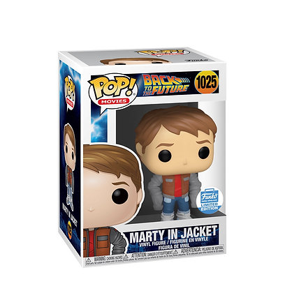 Funko Pop! Back To The Future: Marty Mcfly In Jacket Funko Limited Edition