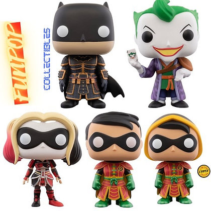 Funko Pop! DC Imperial Palace: Bundle of 5(Includes Robin Chase)
