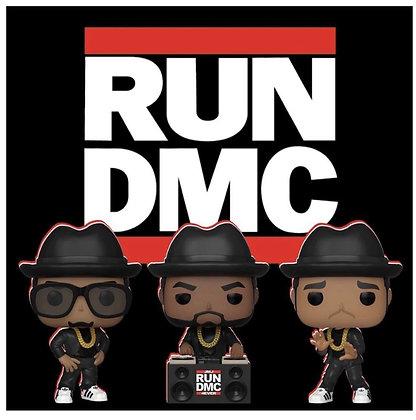 Funko Pop! Run DMC 3 Piece Set