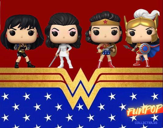Funko Pop! DC Wonder Woman 80th: Bundle of 4