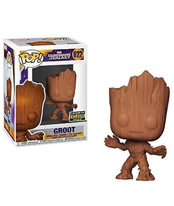 Funko Pop! Marvel: Groot Wood Deco Exclusive