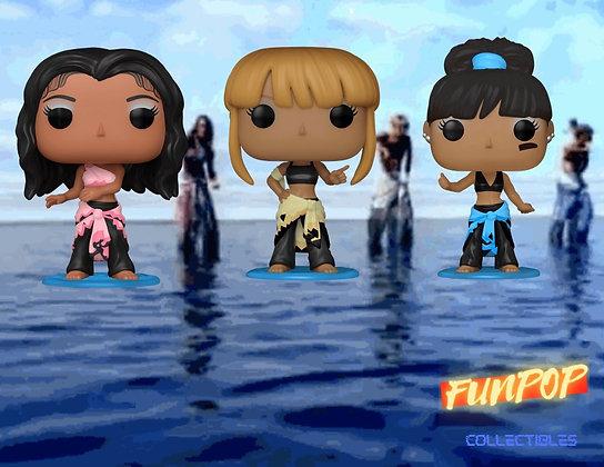 Funko Pop! TLC: Bundle of 3 Common Set