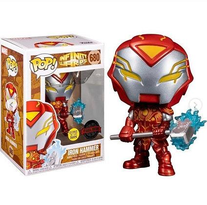 Funko Pop! Marvel Infinite Warps: Iron Hammer  Glow-In-The-Dark Exclusive