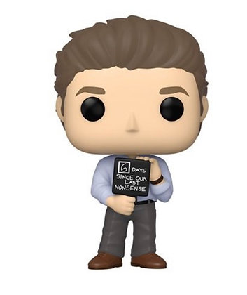 Funko Pop! The Office: Jim with Nonsense Sign
