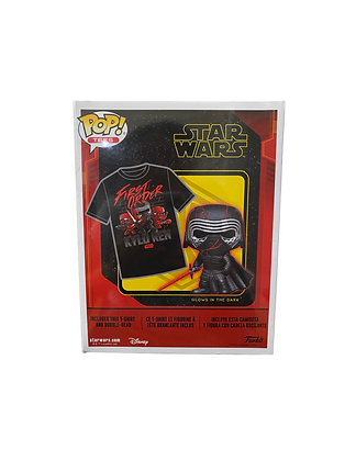 Star wars Kylo Ren Exclusive Limited Edition POP and Tee