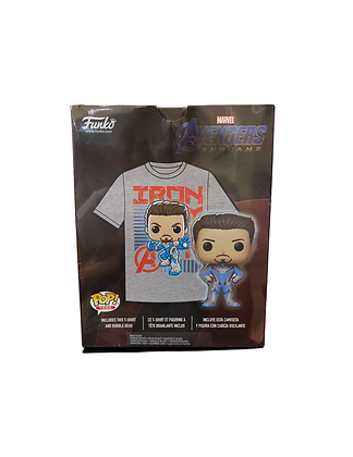 Iron Man Avengers Exclusive POP! and Tee