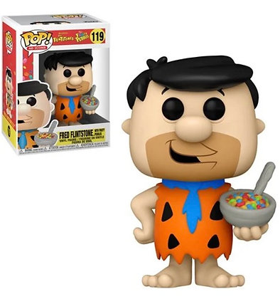 Funko Pop! Ad Icons: Fruity Pebbles 50th Anniversary Fred with Cereal