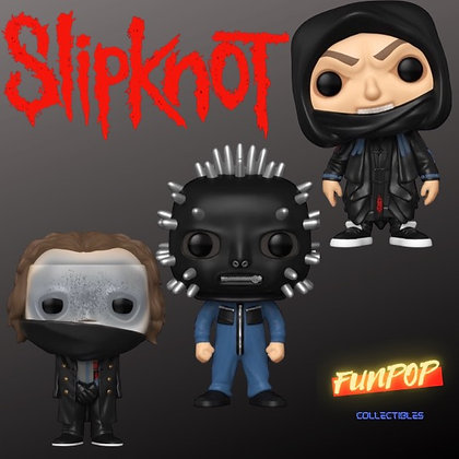 Funko Pop! Slipknot: Bundle of 3 ( Sid, Corey, Craig)