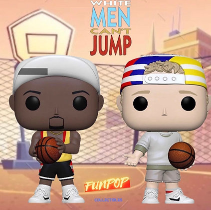 Funko Pop! White Men Can't Jump: Bundle of 2