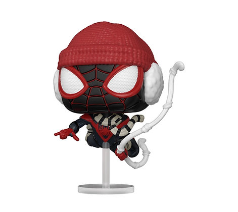Funko Pop! Marvel Spider-Man Miles Morales: Game Winter Suit
