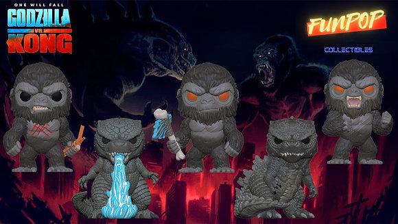 Funko Pop! Godzilla vs Kong: Bundle of 5