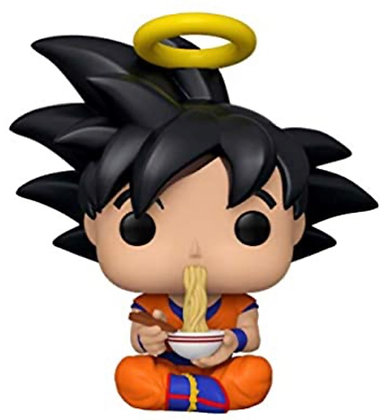 Funko Pop! Dragon Ball Z: Goku Eating Noodles Exclusive
