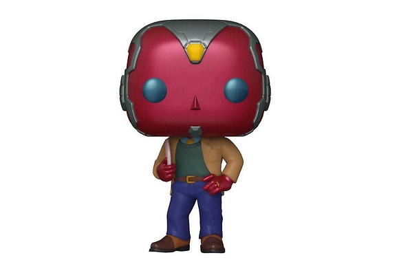 Funko Pop! Marvel WandaVision: 70's Vision GameStop Exclusive
