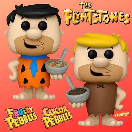 Funko Pop! Ad Icons: The Flintstones Fred and Barney Bundle