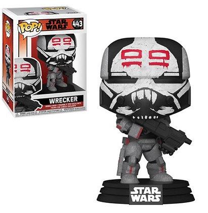 Funko Pop! Star Wars The Bad Batch: Wrecker